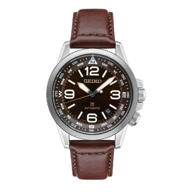 jcpenney.com | Seiko Prospex Mens Brown Strap Watch-Srpa95