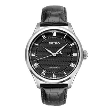 jcpenney.com | Seiko Mens Black Strap Watch-Srpa97
