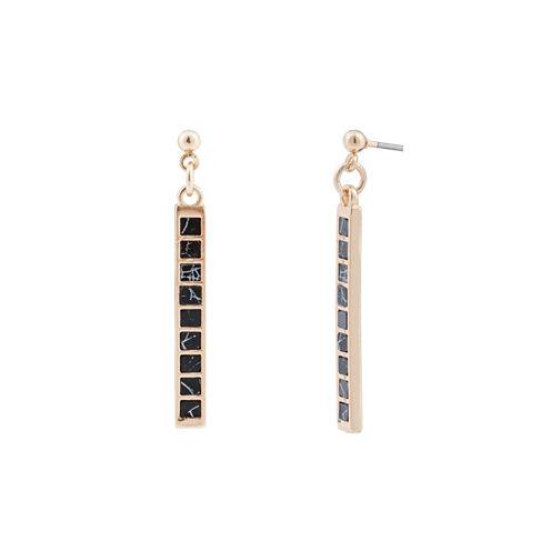 a.n.a Gold Drop Earrings