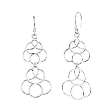 jcpenney.com | Silver Treasures Sterling Silver Drop Earrings