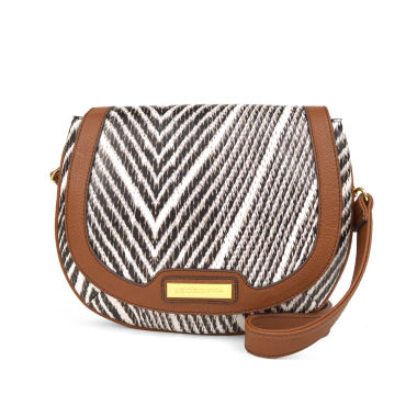 jcpenney.com | Liz Claiborne Sarah Saddle Crossbody Bag