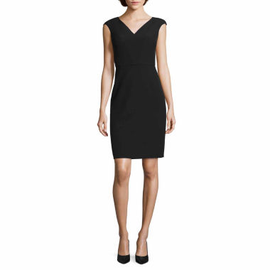 jcpenney.com | Worthington Short Sleeve Sheath Dress-Talls