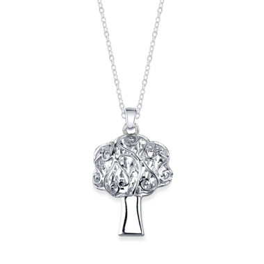 jcpenney.com | Inspired Moments Womens Sterling Silver Pendant Necklace