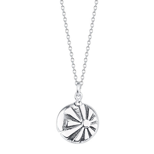 Inspired Moments Womens Locket Necklace