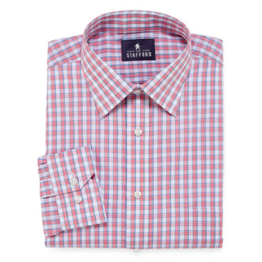 jcpenney.com | Stafford Travel Easy-Care Broadcloth Long Sleeve Dress Shirt