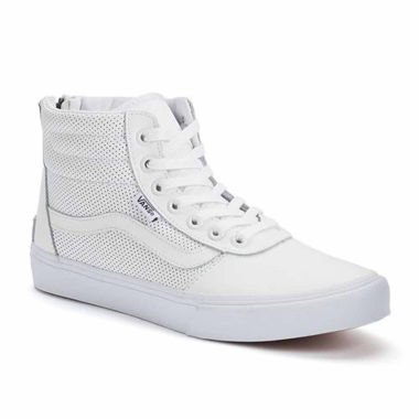 jcpenney.com | Vans Milton Hi Top Perforated Leather Womens Sneakers