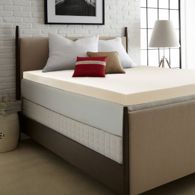 jcpenney.com | PuraSleep OptiPlush Classic Memory Foam Mattress Topper - 3In