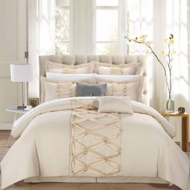 jcpenney.com | Chic Home Ruth 12-pc. Complete Bedding Set With Sheets
