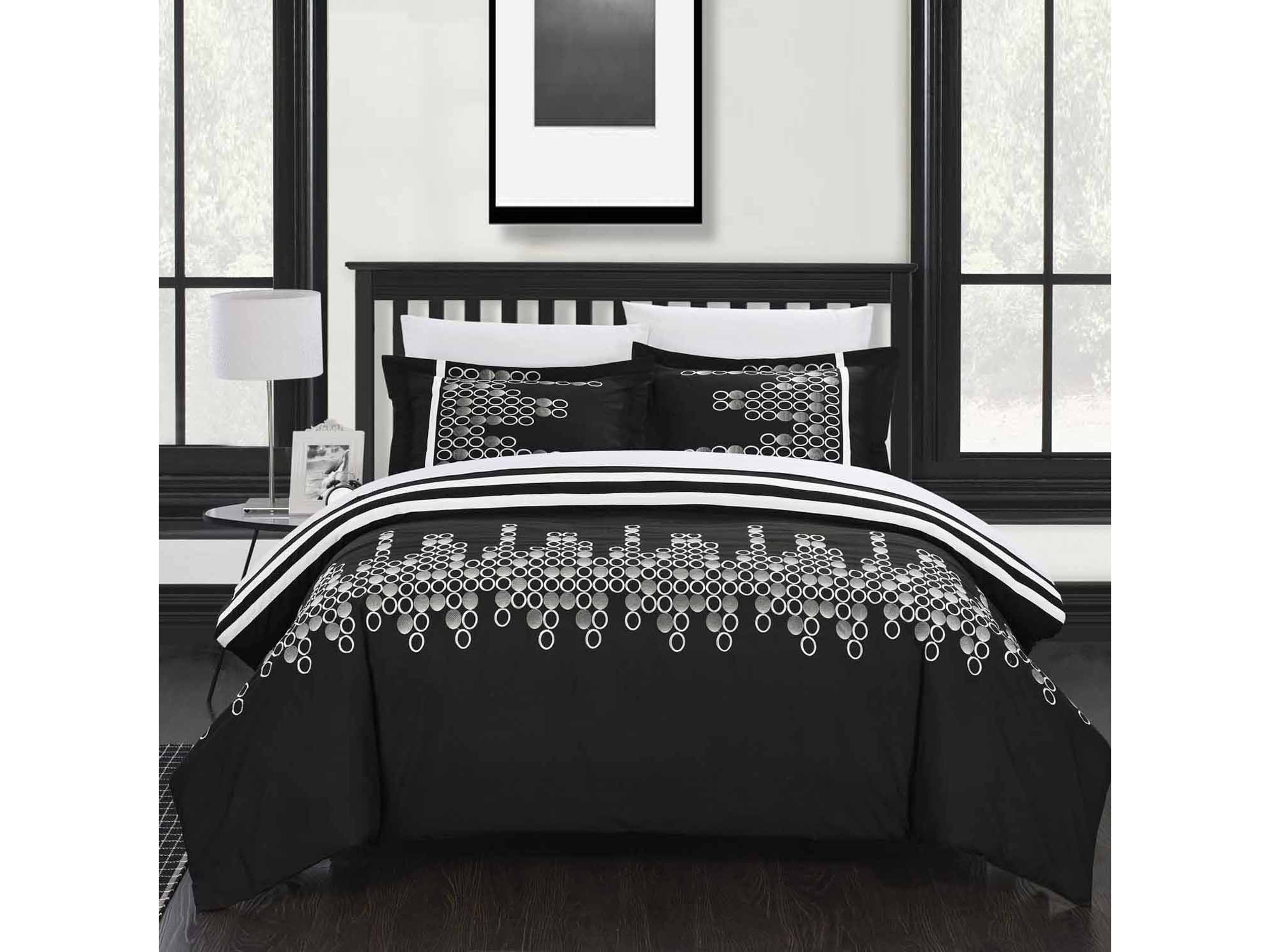 Chic Home Michael 7 - pc. Complete Bedding Set With Sheets