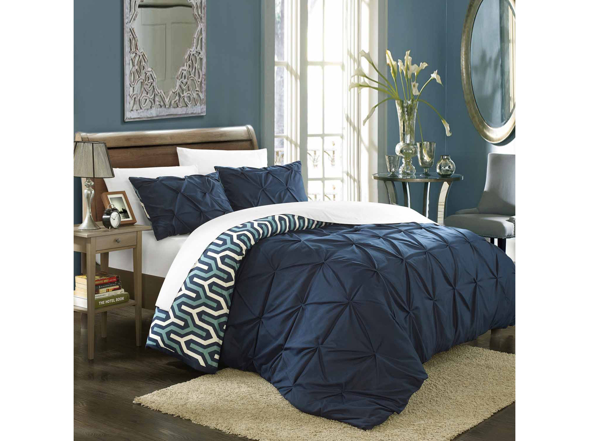 Chic Home Talia 7 - pc. Complete Bedding Set With Sheets