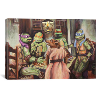 jcpenney.com | Icanvas The Pizza Eaters Canvas Art