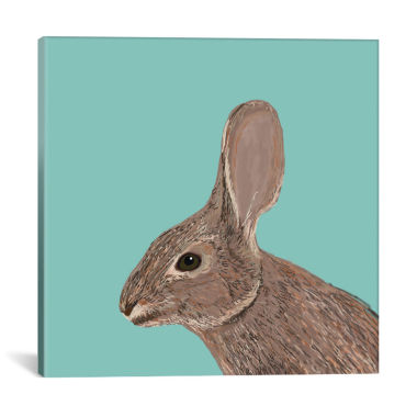 jcpenney.com | Icanvas Bunny Canvas Art