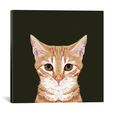 jcpenney.com | Icanvas Orangetabby Canvas Art