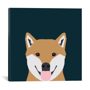 jcpenney.com | Icanvas Shiba Inu Canvas Art