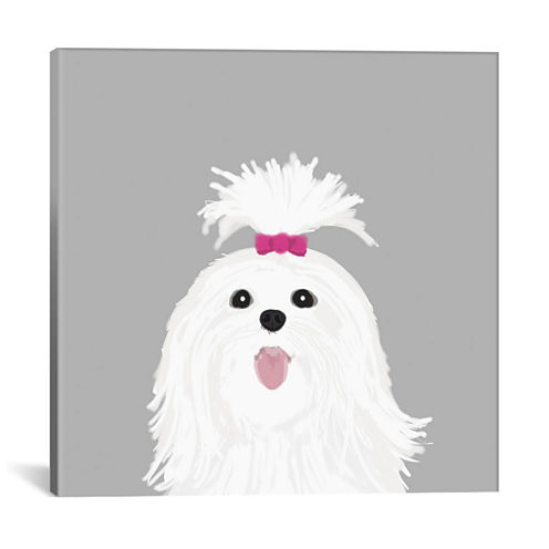 Icanvas Shih Tzu Canvas Art
