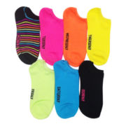 7-pk. Days of the Week No-Show Socks