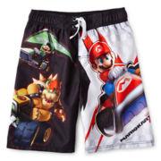Super Mario Brothers Swim Trunks - Boys 6-10