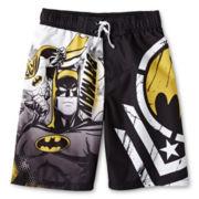 Batman Swim Trunks - Boys 6-10