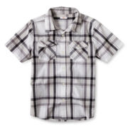 Joe Fresh™ Short-Sleeve Plaid Shirt - Boys 4-14