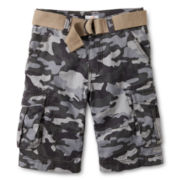 Joe Fresh™ Army Green Fashion Shorts - Boys 4-14