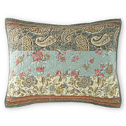 home expressions jacobean stripe pillow sham