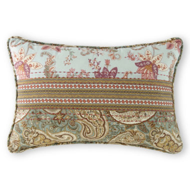 jcpenney.com | Home Expressions™ Jacobean Stripe Oblong Decorative Pillow