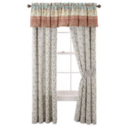 Home Expressions™ Jacobean Stripe Curtain Panel Pair