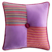 "Seventeen® Dazzle Me 16"" Square Decorative Pillow"