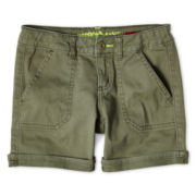 Arizona Twill Midi Shorts - Girls 6-16, Slim & Plus
