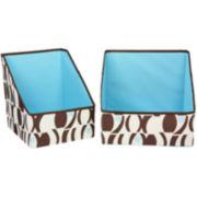 Household Essentials® 2-Piece Accessory Print Storage Bin Set