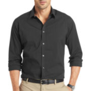 Van Heusen® Traveler Button-Front Shirt
