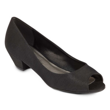 jcpenney.com | CL by Laundry Home Run Peep-Toe Pumps