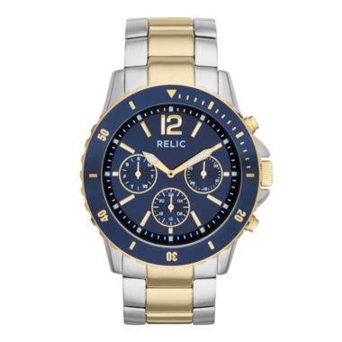 jcpenney.com | Relic® Mens Two-Tone Sport Watch ZR15772