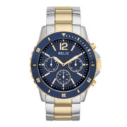 Relic® Mens Two-Tone Sport Watch ZR15772