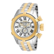 Invicta® Bolt Mens Two-Tone Chronograph Sport Watch 17436