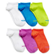Xersion™ 6-pk. Zone Cushioned No-Show Socks