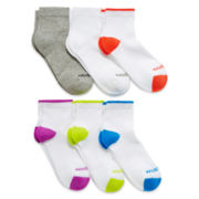 Xersion™ 6-pk. Zone Cushioned Tipped Quarter Socks