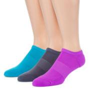 Xersion™ 3-pk. Technical Flex Fit Zone Cushioned No-Show Socks