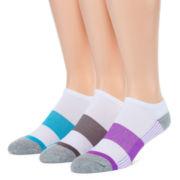 Xersion™ 3-pk. Low-Cut Cushioned Training Socks
