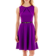 Alyx® Sleeveless Belted Bi-Stretch Dress