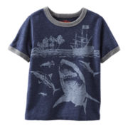 OshKosh B'gosh® Shark Tee – Boys 2t-5t