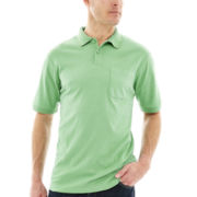 Haggar® Short-Sleeve Mini Box Polo