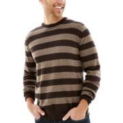 St. John's Bay® Striped Fine-Gauge Sweater