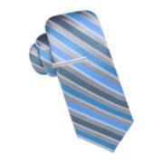 JF J. Ferrar® Rome Stripe Tie - Slim