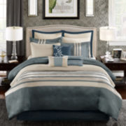 Madison Park Harlem 12-pc. Jacquard Comforter Set