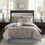 Madison Park Camille Scroll 7-pc. Comforter Set