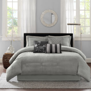 jcpenney.com | Madison Park Lawrence 7-pc. Comforter Set