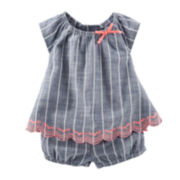 Baby B'gosh® 2-pc. Striped Babydoll Set - Baby Girls newborn-24m