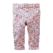 Baby B'gosh® Floral French Terry Leggings - Baby Girls newborn-24m