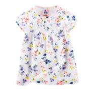 Baby B'gosh® Cap-Sleeve Floral Dress - Baby Girls newborn-24m